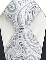 Men's Silk Neck Tie,Pattern Paisley All Seasons