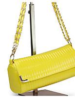 Women Bags All Seasons PU Shoulder Bag Zipper for Casual Blue Yellow Light Green