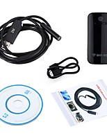 10mm lentille wifi endoscope caméra serpent inspection endoscope 2 m longueur câble étanche ip67 usb android ios pc sans fil cam