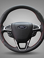 Automotive Steering Wheel Covers(Leather)For Ford 2013 2017 Mondeo