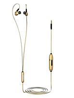 da62g en los auriculares con cable de aleación dinámica de aleación de aluminio deportivo&Auricular de fitness con micrófono con