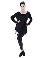 Latin Dance Dresses Women's Performance Modal Long Sleeve Dresses