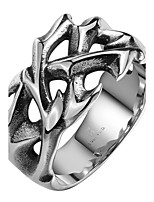 Men's Knuckle Ring Jewelry Punk Personalized Stainless Steel Alloy Geometric Irregular Jewelry For Halloween Street