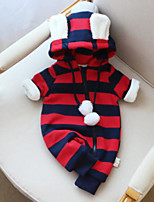 Baby Kids Stripe One-Pieces,Others Winter Green Red