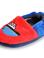 Girls' Shoes Fleece Fall Winter Comfort Slippers & Flip-Flops For Casual Red