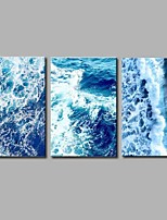 Stretched Canvas Print Comtemporary Modern,Three Panels Canvas Horizontal Panoramic Print Wall Decor For Home Decoration