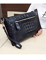 Women Bags All Seasons Cowhide Wallet Zipper for Casual Black