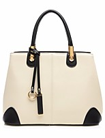 Women Bags All Seasons PU Shoulder Bag Zipper for Casual White Black Wine