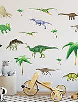 Animais Botânico Moda Adesivos de Parede Autocolantes de Aviões para Parede Autocolantes de Parede Decorativos Material Decoração para