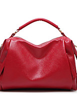Women Bags All Seasons PU Tote Zipper for Red Black Blue
