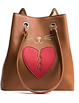 Women Bags PU Shoulder Bag Pockets Zipper for Shopping Casual All Seasons Black Gray Brown