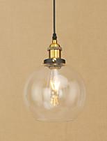 Tiffany Rustique Rétro / Vintage Moderne/Contemporain Traditionnel/Classique Globe Lampe suspendue Pour Salle à manger Bureau/Bureau de