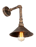 Loft Retro Industrial Style Wall Sconce Restaurant And Bar Metal Water Pipe Wall lamp