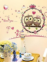 Animals Wall Stickers Plane Wall Stickers Day Night,Plastic Material Home Decoration Wall Decal