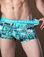 Men's Print Print Boxers Underwear,Nylon