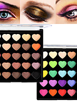 Pro 25 Color Matte&Shimmer Waterproof Eyeshadow Powder Kit Earth Tone Smoky Eye Shadow Makeup Cosmetic Palette
