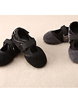 Girls' Shoes Feather/ Fur Fall Winter Comfort Sneakers For Casual Gray Black