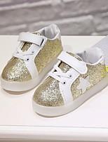 Fille Chaussures Similicuir Printemps Automne Confort Basket Pour Décontracté Or Argent Rose