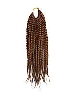 Dread Locks Hair Braid Afro Plaited Havana Twist Synthetic Hair Dark Auburn 14
