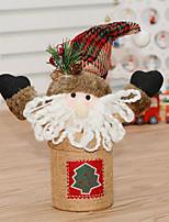 1pc Noël Décorations de NoëlForDécorations de vacances 22*22