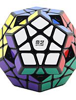 Rubik's Cube QIHENG 157 Cube de Vitesse  Megamix Cubes magiques Plastique Carré Anniversaire Noël Le Jour des enfants Cadeau
