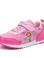 Girls' Shoes Tulle Spring Fall Comfort Athletic Shoes Walking Shoes For Casual Blushing Pink Light Purple Fuchsia