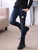 Jeans Fille Imprimé Automne