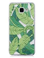 Coque Pour Samsung Galaxy IMD Transparente Motif Coque Arrière Arbre Flexible TPU pour A3 (2017) A5 (2017) A5(2016) A3(2016)