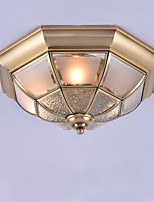 Traditional/Classic Flush Mount For Indoors Entry Garage AC 100-240V Bulb Not Included