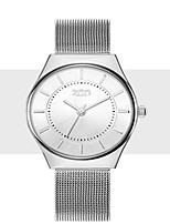 Women's Fashion Watch Quartz Stainless Steel Band Silver Rose Gold
