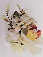 Свадебные цветы Бутоньерки Свадебное белье Около 10 см