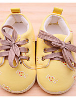Baby Shoes Fabric Spring Fall Comfort First Walkers Sneakers For Casual Light Blue Blushing Pink Light Yellow