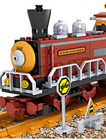 Building Blocks Train Toys Train Vehicles Classic Boys 662 Pieces