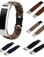 abordables -pour fitbit alta fitbit alta hr sangles nylon corde survie montre bracelet bracelet montre bracelet