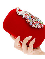 Women Bags Polyester Evening Bag Buttons for Casual All Seasons Blue Black Red