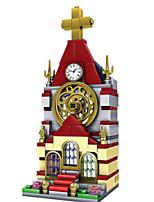 Building Blocks Toys Church Architecture Kids 148 Pieces