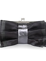 Women Bags All Seasons Silk Clutch Sashes/ Ribbons for Event/Party Casual Coffee Light Gray