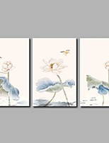 Lotus 3-Piece Modern Artwork Wall Art for Room Decoration 20x28inchx3