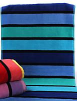 Style frais Essuie-mains,Rayures Qualité supérieure Pur Coton Serviette