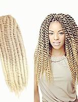 Twist Braids Hair Braid Havana Ombre Braiding Hair 100% Kanekalon Hair Strawberry Blonde/Bleach Blonde 20