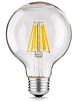 1 pièce 8W E27 Ampoules à Filament LED G95 8 diodes électroluminescentes COB Décorative Blanc Chaud 700lm 2300-2700K AC 100-240V