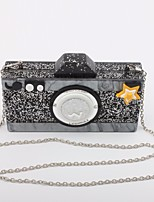 Women Bags Special Material Crossbody Bag Buttons Sequins for Casual All Seasons Gold Black Silver