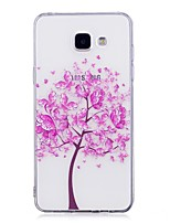 For Case Cover IMD Transparent Pattern Back Cover Case Butterfly Tree Soft TPU for Samsung Galaxy A3(2017) A5(2017) A5(2016) A3(2016)