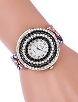 Women's Fashion Watch Wrist watch Casual Watch Quartz Fabric Band