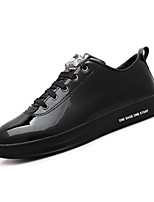Men's Shoes Synthetic Microfiber PU Spring Fall Light Soles Sneakers Lace-up For Casual Royal Blue Silver Black Gold