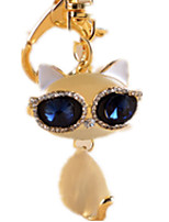 Key Chain Toys Novelty Cat Animal Unisex Pieces