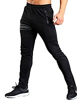 Men's Running Pants Fitness, Running & Yoga Pants / Trousers Yoga Running/Jogging Slim Black M L