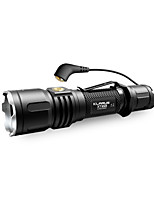 KLARUS XT12S LED Flashlights / Torch - 1600 lm Manual Mode Cree CREE XHP35 HI D4 Professional Easy Carrying for Camping/Hiking/Caving