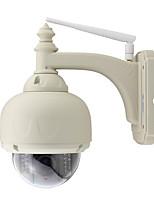 wanscam® imperméable à l'eau 720p 1.0mp ptz sécurité caméra ip sans fil