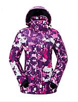 Vector Skijacke Damen Skifahren Winter Sport Wasserdicht warm halten Windundurchlässig Skifahren Jacke Warme Oberteile Oberteile